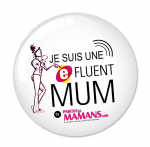 Badge Maman Blogeuse