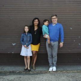 Virginie, heureuse maman de 2 enfants