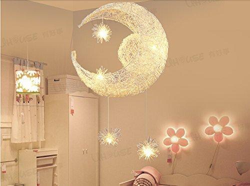lampe enfant lune étoiles
