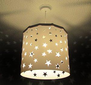 lampe de plafond enfant étoiles