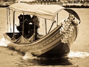 bateau à queue thailande