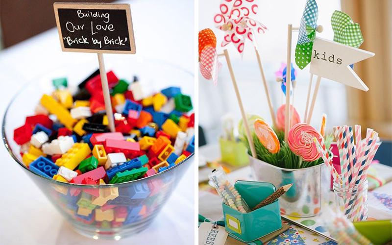les meilleures id es d co pour la table des enfants votre mariage blog de maman d bord e. Black Bedroom Furniture Sets. Home Design Ideas