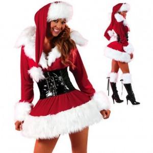 deguisement Mere Noel
